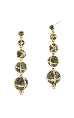 Freida Rothman Textured Ornaments Earring TOYKZE02 product image