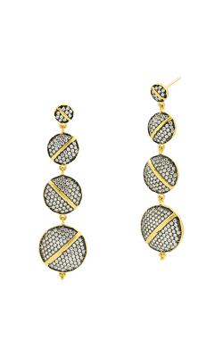 Freida Rothman Textured Ornaments Earring TOYKZE03 product image