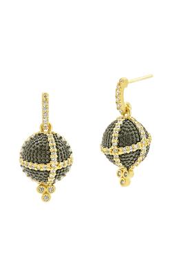 Freida Rothman Textured Ornaments Earring TOYKZE04 product image