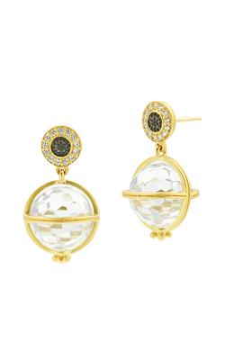 Freida Rothman Textured Ornaments Earring TOYKZE05 product image