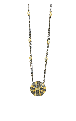 Freida Rothman Textured Ornaments Necklace TOYKZN02-16E product image