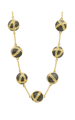 Freida Rothman Textured Ornaments Necklace TOYKZN03-18 product image