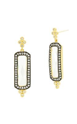 Freida Rothman Industrial Finish Earrings YRZE020353B-14K product image