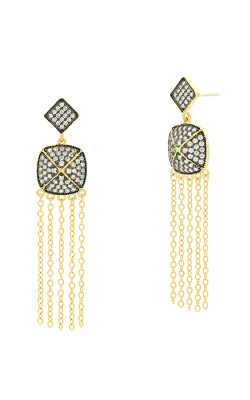 Freida Rothman Industrial Finish Earrings YRZE020356B-14K product image