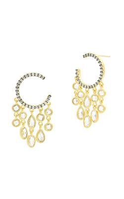 Freida Rothman Industrial Finish Earrings YRZE020359B-14K product image