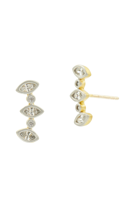Freida Rothman Fleur Bloom Earrings FBPYZE16-14K product image