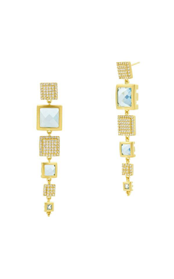 Freida Rothman Ocean Azure Earrings RSYZME01-14K product image