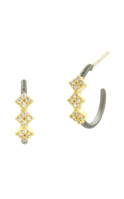 Freida Rothman Rose D'Or Earrings RDYKZE22-14K product image