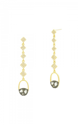 Freida Rothman Rose D'Or Earrings RDYKZGE17-14K product image