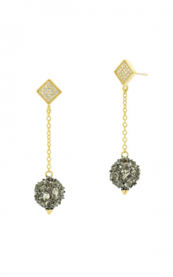 Freida Rothman Rose D'Or Earrings RDYKZGE18-14K product image