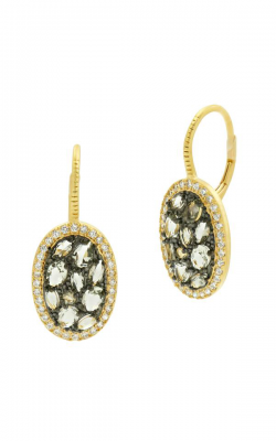 Freida Rothman Rose D'Or Earrings RDYKZGE20 product image