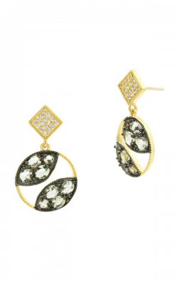 Freida Rothman Rose D'Or Earrings RDYKZGE23-14K product image