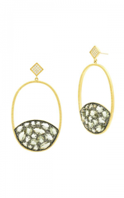 Freida Rothman Rose D'Or Earrings RDYKZGE27-14K product image