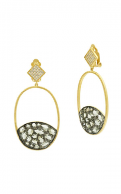 Freida Rothman Rose D'Or Earrings RDYKZGE31 product image