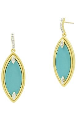 Freida Rothman Fleur Bloom Empire Earrings FBPYZTQE60 product image