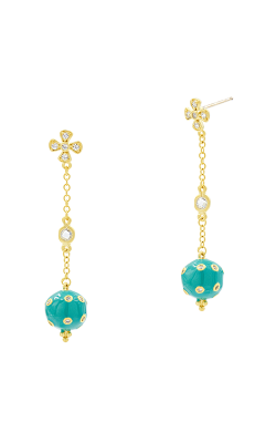 Freida Rothman Harmony Earrings HAYZTQE11-14K product image