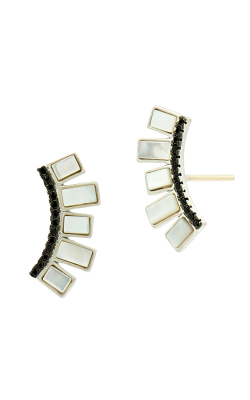 Freida Rothman Industrial Finish Earrings IFPKME46-14K product image