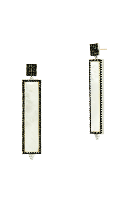 Freida Rothman Industrial Finish Earrings IFPKZME45-14K product image