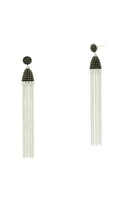 Freida Rothman Industrial Finish Earrings IFPKBKE54-14K product image