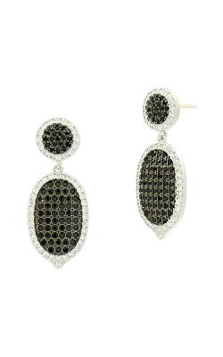 Freida Rothman Industrial Finish Earrings IFPKZBKE55-14K product image