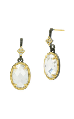 Freida Rothman FR Signature Earrings YRZE020433B-14K product image
