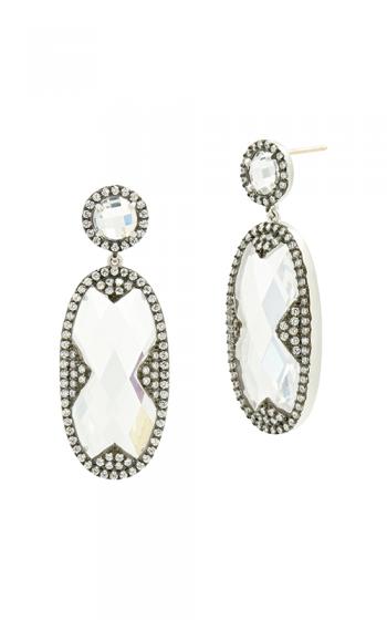 Freida Rothman Industrial Finish Earrings PRZE020352B-14K product image