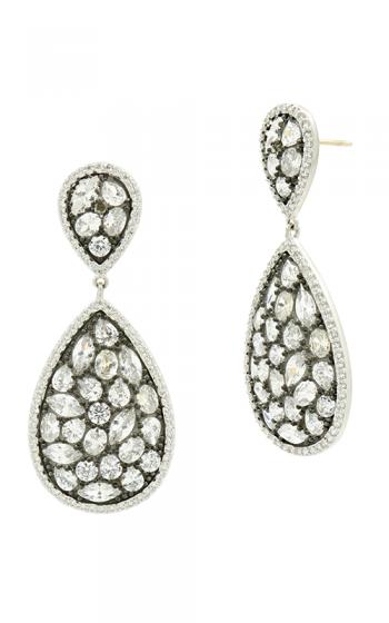 Freida Rothman Industrial Finish Earrings PRZE020357B-14K product image