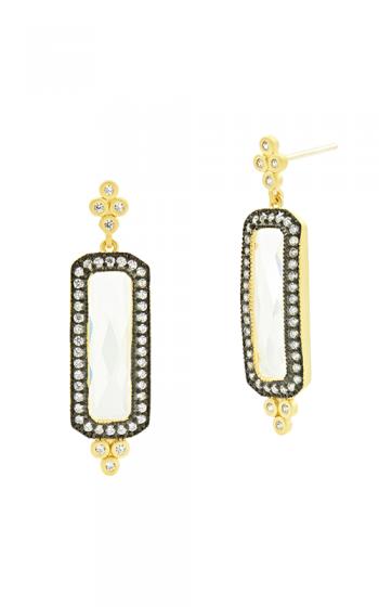 Freida Rothman Industrial Finish Earrings YRZE020353B-14K product image