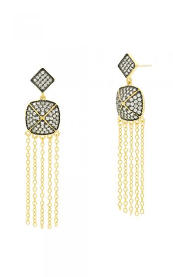 Freida Rothman Industrial Finish Earrings YRZE020356B-14K product image