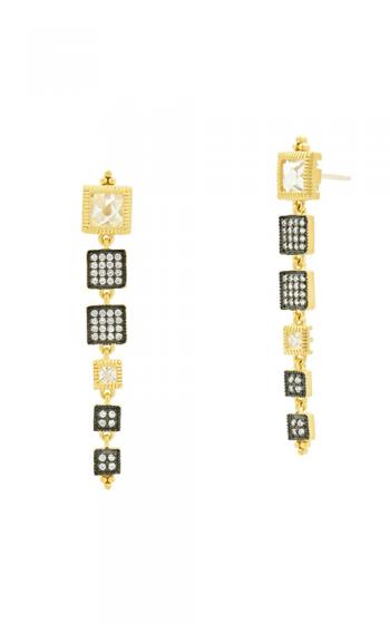 Freida Rothman Visionary Fusion Earrings YRZE020351B-14K product image