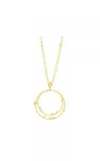 Freida Rothman Textured Pearl Necklace TPYZFPN13-27 product image