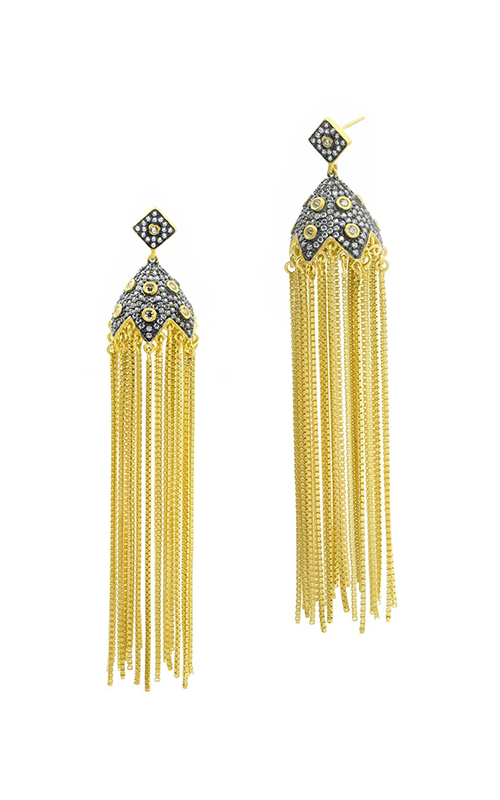 Freida Rothman Contemporary Deco Earring CDYKZE10 product image