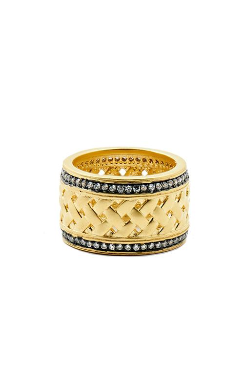 Freida Rothman Lattice Motif Fashion ring LMYKZR02 product image