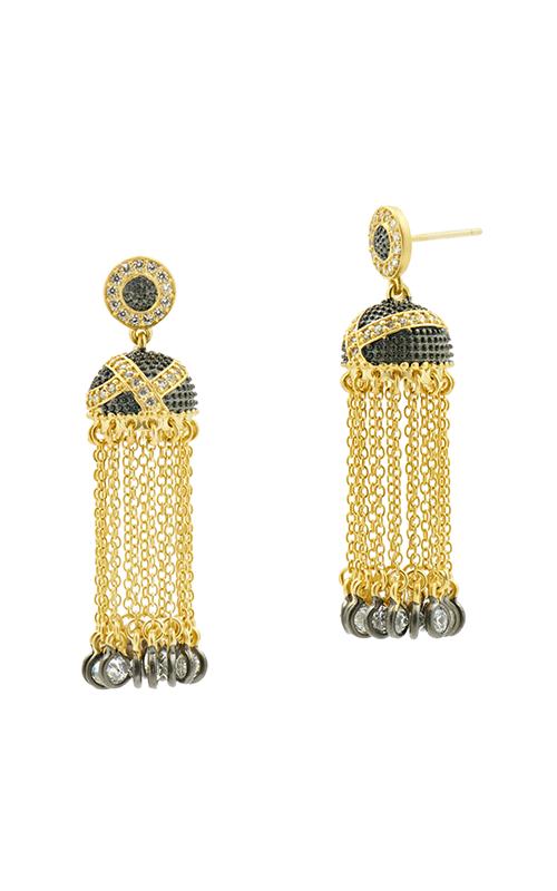 Freida Rothman Textured Ornaments Earring TOYKZE01 product image