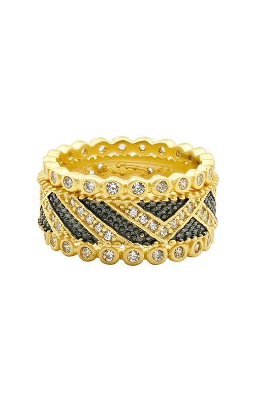 Freida Rothman Textured Ornaments Fashion ring TOYKZR02 product image