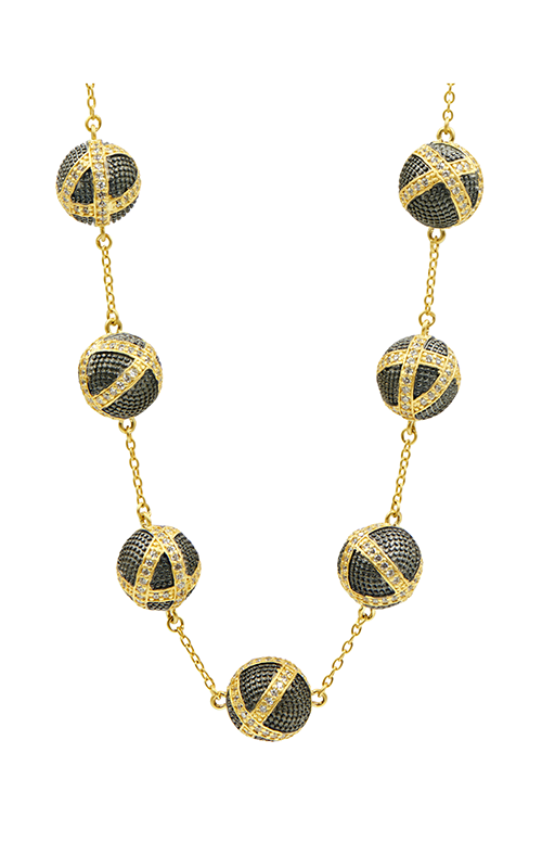 Freida Rothman Textured Ornaments Necklace TOYKZN03-18 product image