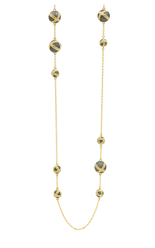 Freida Rothman Textured Ornaments Necklace TOYKZN04-36 product image