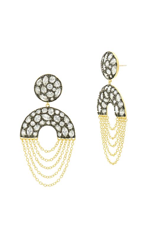 Freida Rothman Industrial Finish Earring YRZE020354B-14K product image