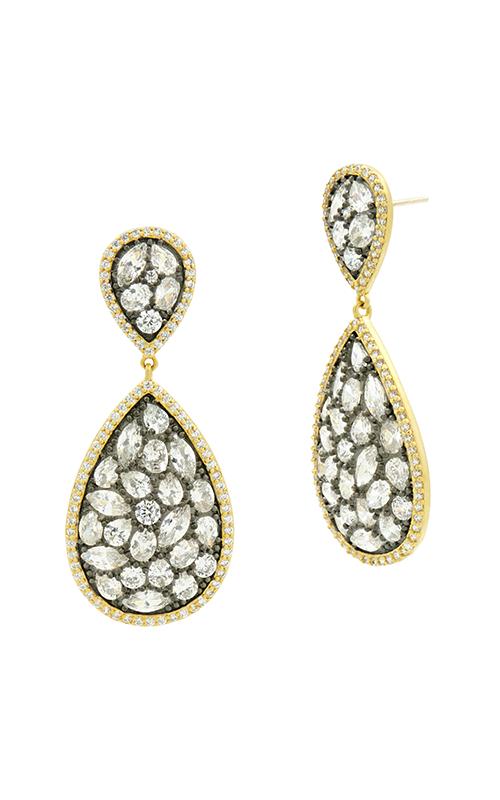 Freida Rothman Industrial Finish Earrings YRZE020357B-14K product image