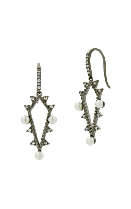 Freida Rothman Textured Pearl Earrings TPKZFPE10 product image
