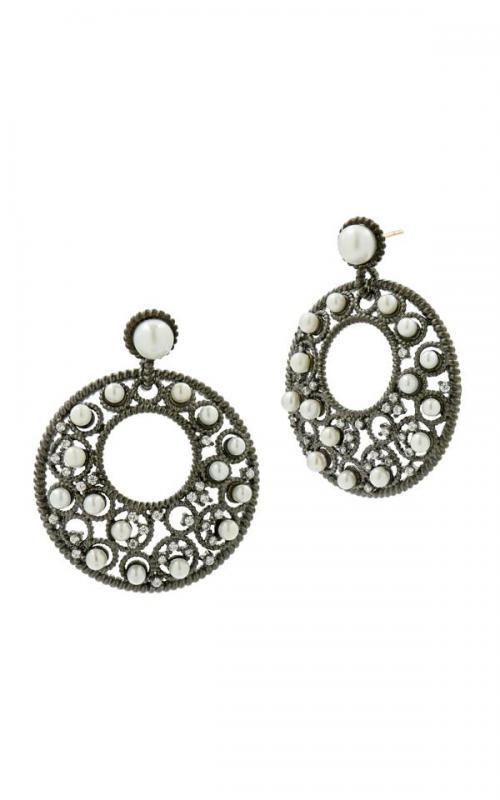 Freida Rothman Textured Pearl Earring TPKZFPE11-14K product image
