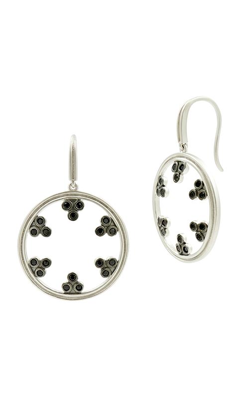 Freida Rothman Industrial Finish Earrings IFPKBKE30 product image