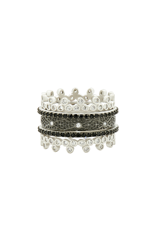 Freida Rothman Industrial Finish Fashion ring IFPKZBKR32-6 product image