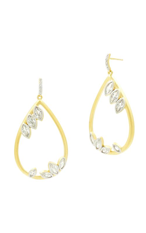 Freida Rothman Fleur Bloom Earrings FBPYZE24-14K product image