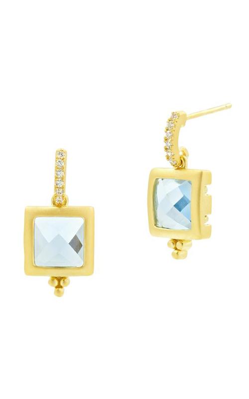 Freida Rothman Ocean Azure Earring RSYZAQE02-14K product image