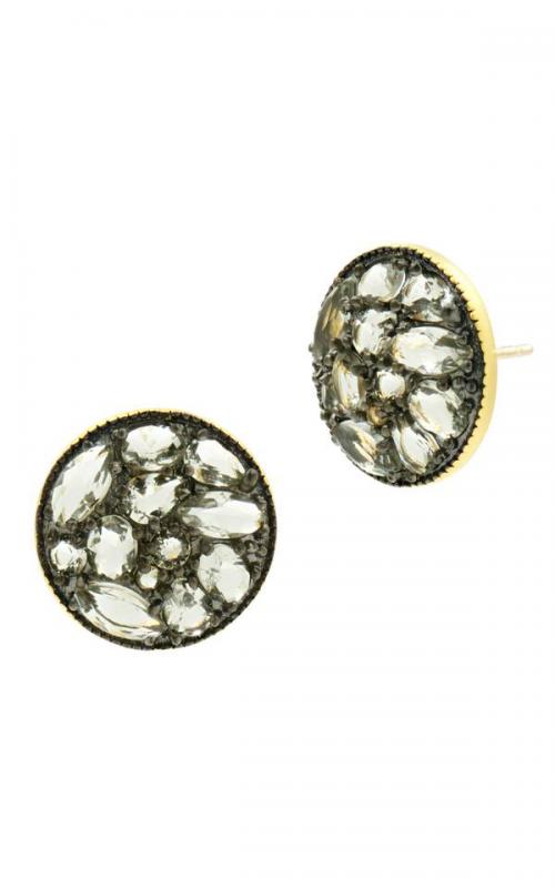 Freida Rothman Rose D'Or Earrings RDYKGE19-14K product image