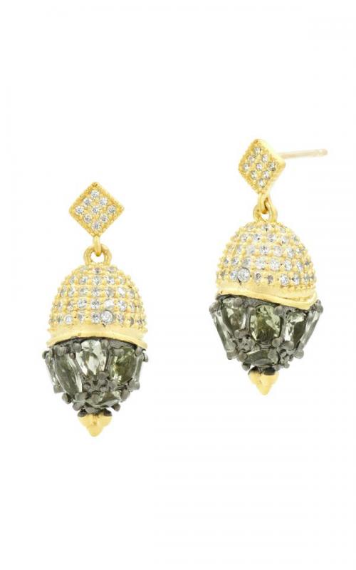 Freida Rothman Rose D'Or Earrings RDYKZGE26-14K product image