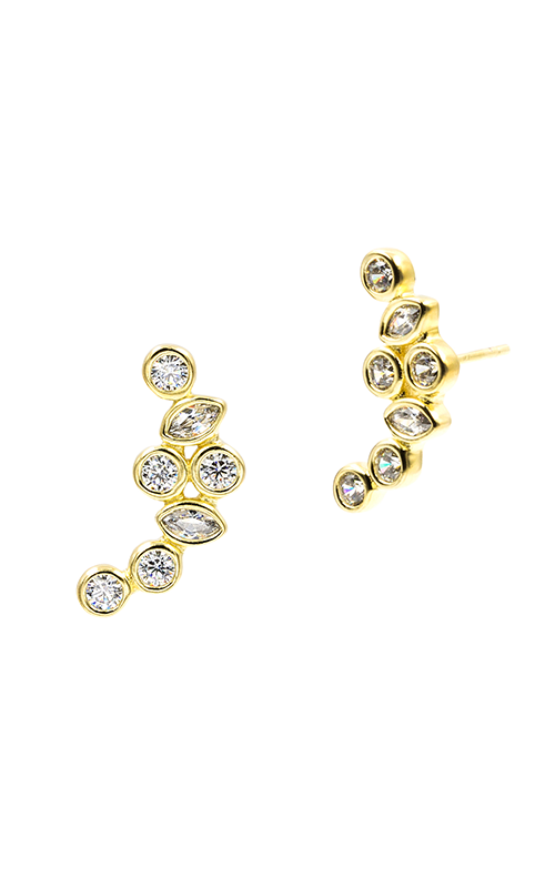 Freida Rothman FR Signature Earrings YZE020215B-14K product image