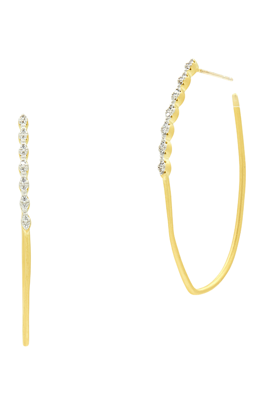 Freida Rothman Fleur Bloom Empire Earrings FBPYZE47 product image