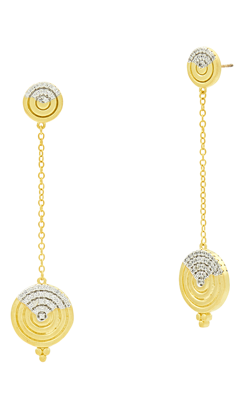 Freida Rothman Fleur Bloom Empire Earrings FBPYZE49 product image
